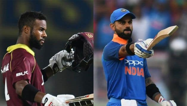 Shai Hope and Virat Kohli stood out with centuries for their respective teams. (AFP Image)