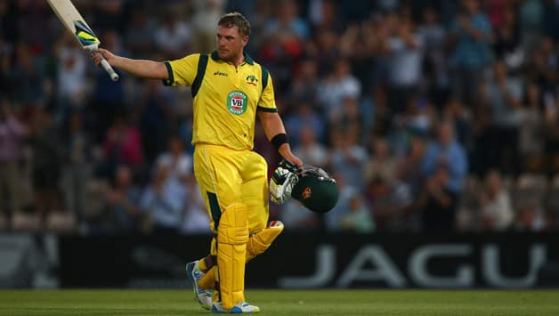 Aaron Finch's record breaking 156 against England at The Rose Bowl