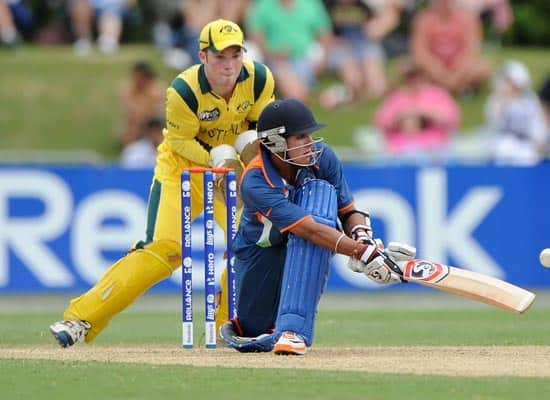 Australia vs India  ICC Under 19 World Cup final  Townsville  Aug 26  2012