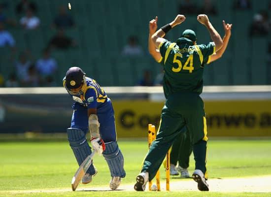 Australia vs Sri Lanka  CB Series 12th ODI  Melbourne  Mar 2  2012