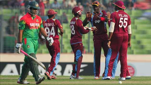 Bangladesh vs West Indies  3rd ODI  Mirpur