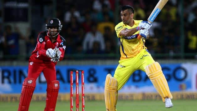 CLT20 2013  Chennai Super Kings vs Trinidad and Tobago  Group B match  Delhi