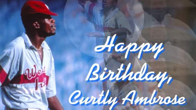 Happy Birthday  Curtly Ambrose