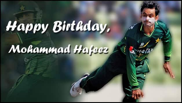 Happy Birthday  Mohammad Hafeez