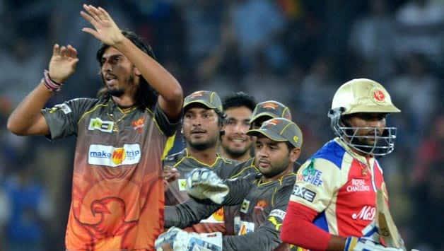 IPL 2013  Sunrisers Hyderabad vs Royal Challengers Bangalore at Rajiv Gandhi International Stadium