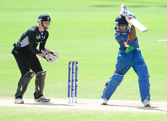 India vs New Zealand  ICC Under 19 World Cup semi final  Townsville  Aug 23  2012