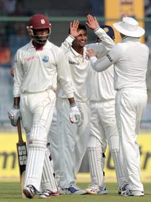 India vs West Indies  1st Test  Feroz Shah Kotla  New Delhi  Nov 6 10  2011