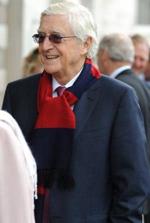 Tony Greig's memorial service in London