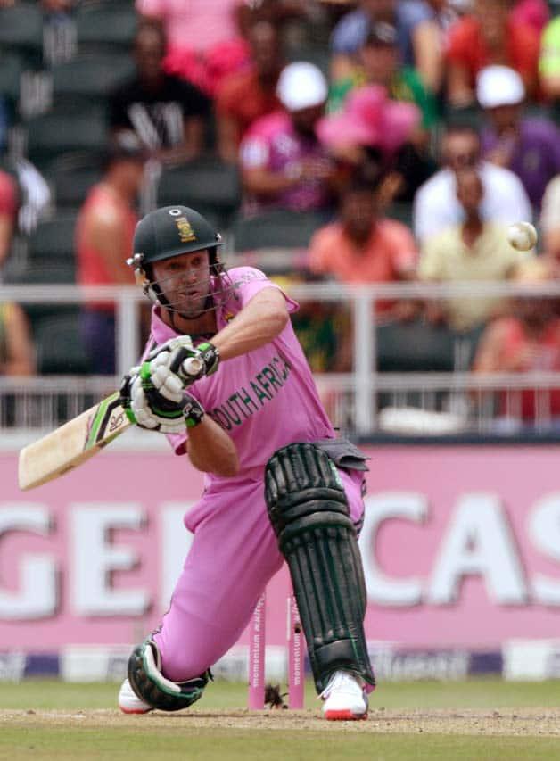 AB de Villiers' fastest ODI century  In Photos