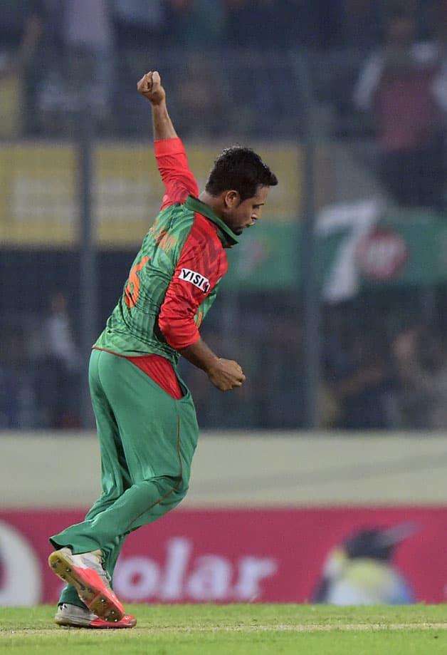 Bangladesh vs Pakistan 2015  1st ODI at Dhaka