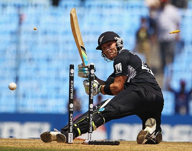 Brendon McCullum's illustrious New Zealand ODI career in photos