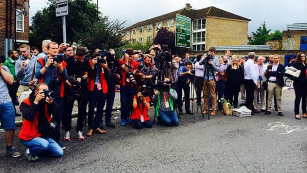 ChangeCricket protest outside Oval ahead of 5th Test