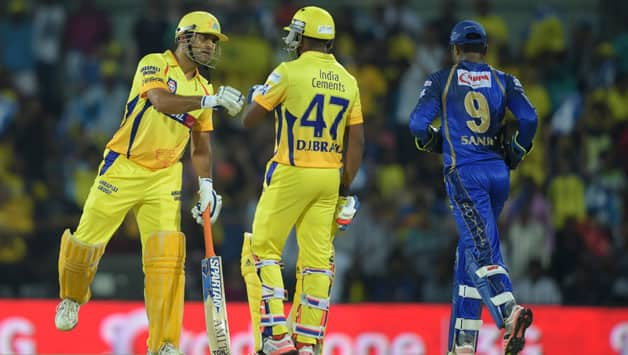 Chennai Super Kings vs Rajasthan Royals  IPL 2015 Match 47 at Chennai