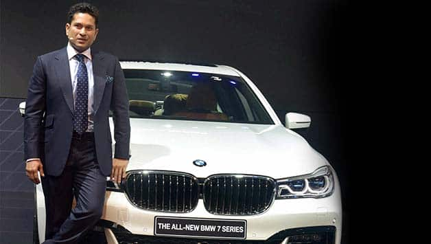 Cricketers in Auto Expo 2016