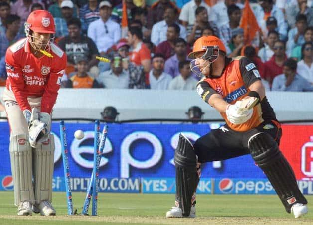 IPL 2014  Sunrisers Hyderabad  SRH  vs Kings XI Punjab  KXIP   Match 39 at Hyderabad
