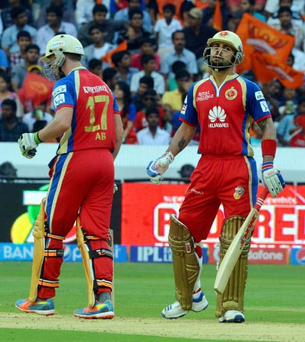IPL 2014  Sunrisers Hyderabad  SRH  vs Royal Challengers Bangalore  RCB   Match 46 at Hyderabad