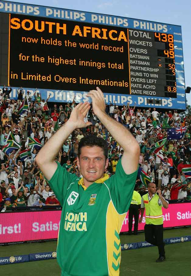 Landmark moments in Graeme Smith's career
