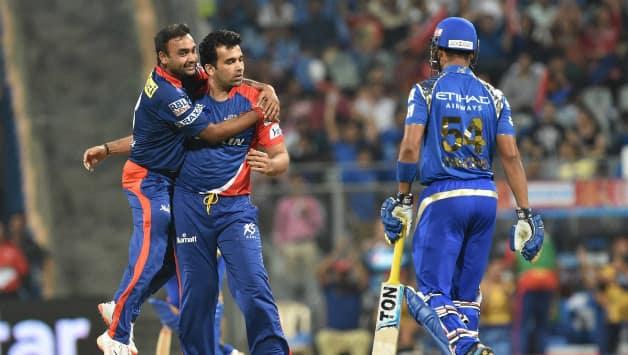 Mumbai Indians vs Delhi Daredevils  IPL 2015 Match 39 at Mumbai
