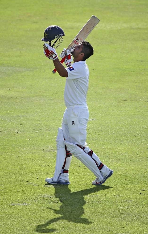 Pakistan vs New Zealand  1st Test at Abu Dhabi