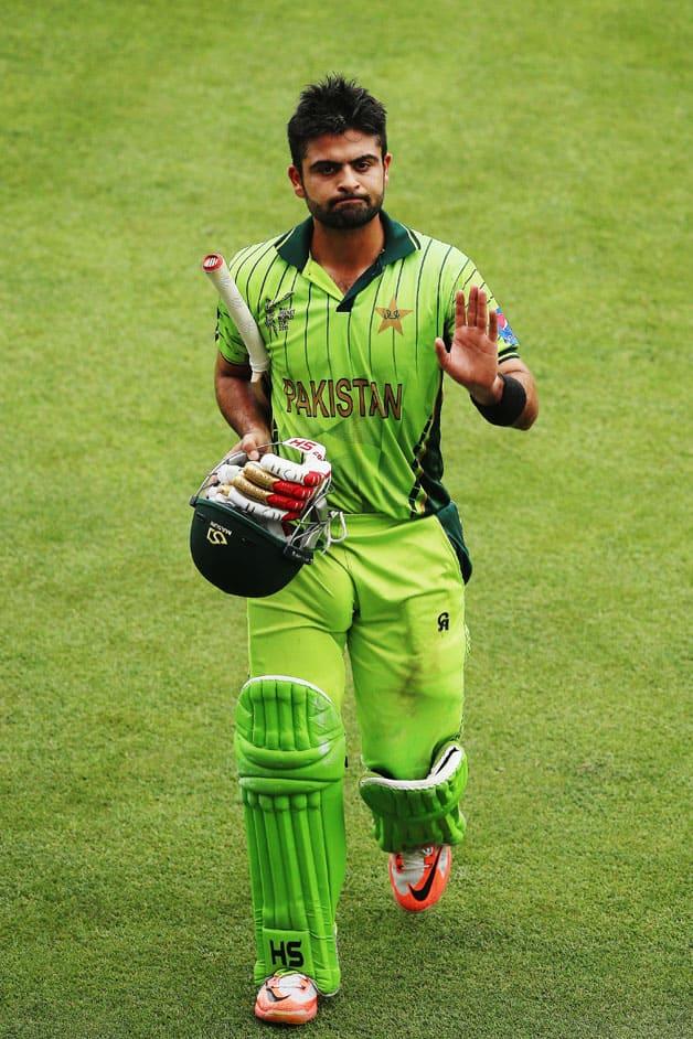 Pakistan Vs Uae Icc Cricket World Cup 2015 Pool B Match