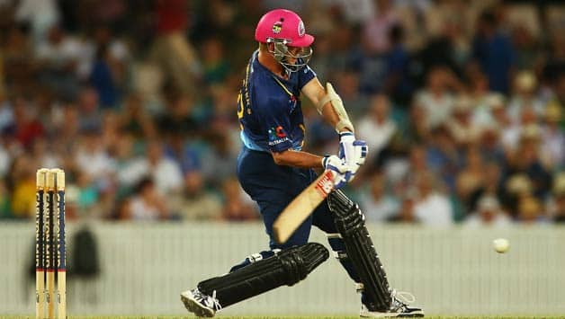 Brett Lee was only one of the three bats...