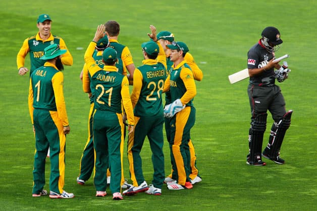 South Africa vs United Arab Emirates  UAE   ICC Cricket World Cup 2015 Pool B Match 36 at Wellington