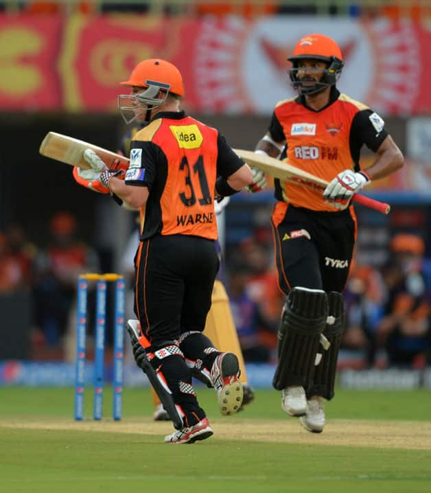 Sunrisers Hyderabad vs Kolkata Knight Riders  IPL 2015  Match 19 at Hyderabad