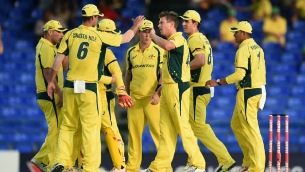 West Indies vs Australia  Tri Nation Series 2016  Match 5 at St Kitts