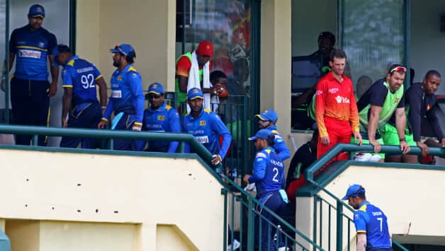 Zimbabwe vs Sri Lanka  4th ODI  Zimbabwe tri nation series
