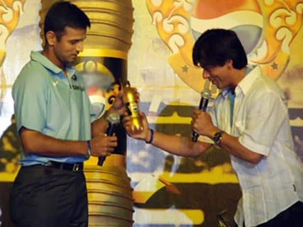 Rahul Dravid (left) has been offered the role of Chinni robot, which is going to fight against Chitti — The Rajini robot. Dravid has been asked to get into the IPL mode to prepare for this role.