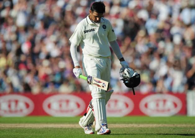 Image result for dravid out