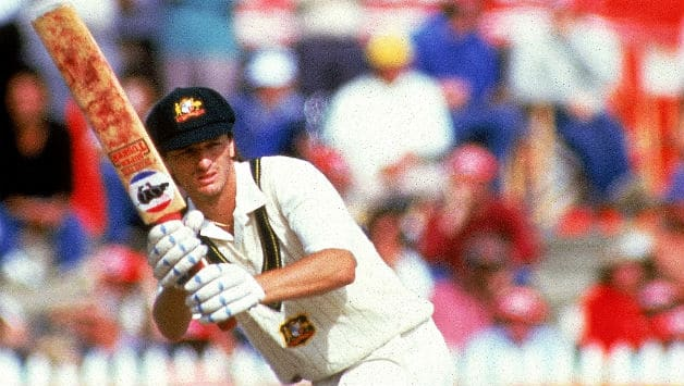 Steve Waugh, pictured here in 1986, writes in his autobiography that on the morning of his first Test, he was a bundle of nerves © Getty Images