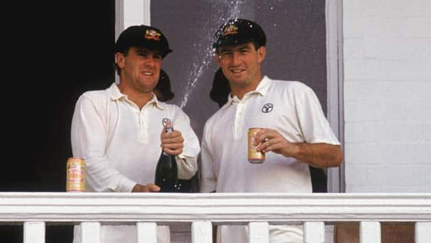 Image result for mark taylor and geoff marsh batting