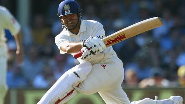 Sachin Tendulkar enroute to his double hundred at Sydney Test against Australia in 2004 © Getty Images