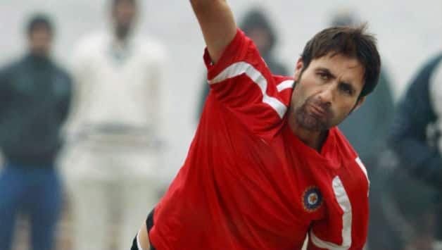 Parvez Rasool (in picture) scored a brilliant 103 for Jammu and Kashmir against Punjab during their Ranji Trophy quarter-final encounter on Thursday © PTI