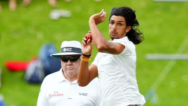 Ishant Sharma took 2 five wickets haul in his last Test series in New Zealand. (photo - getty)