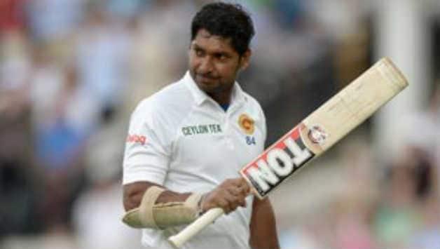 Kumar Sangakkara went past Brian Lara's tally when he reached the score of 21 runs during Sri Lanka's second innings aganinst Pakistan at SSC © AFP