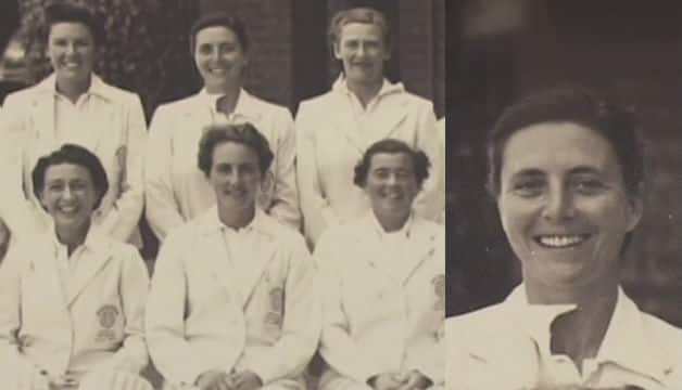 Eileen Whelan Ash is the first woman Test cricketer to live past 100 years; Photo courtesy: Mustard TV