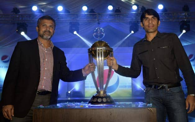 ICC World Cup Trophy Tours Pakistan Cricket Country