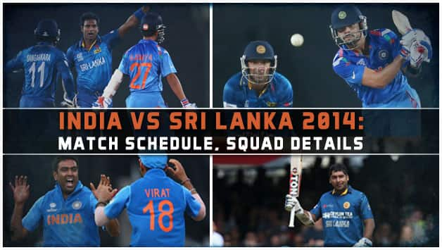 Zim V Pak 2008series Time Table Match Time: India Vs Sri Lanka 2014 Schedule: Match Time Table And