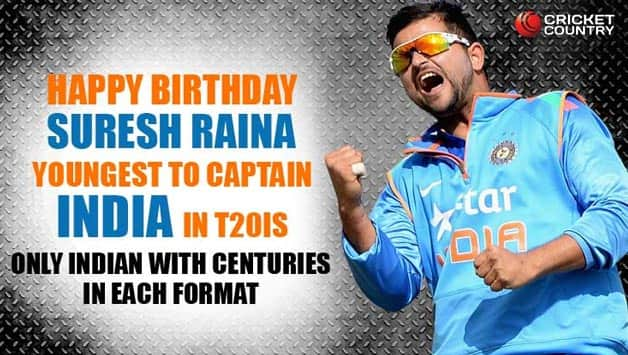 Suresh Raina: 11 facts you must know about the dangerous southpaw