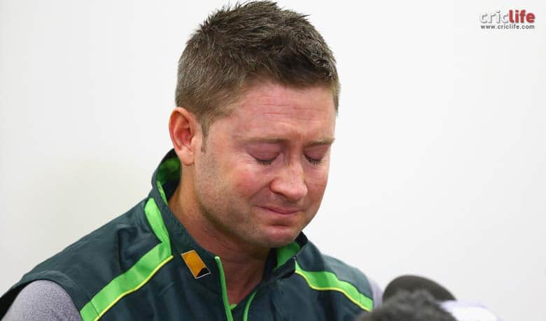 Michael Clarke is an emotional wreck while talking about Phil Hughes