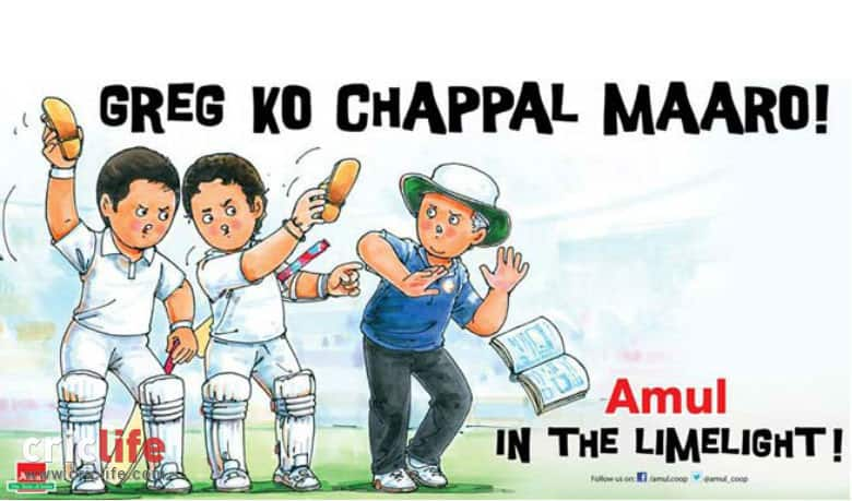 Greg Chappell controversy: Amul ad gives a new meaning to 'leather hunt'