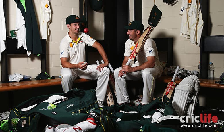 Shaun and Mitchell Marsh set to be first pair of brothers to represent Australia in Tests since Waugh twins