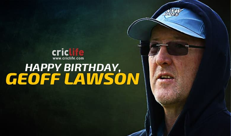 Geoff Lawson: Nine facts you should know about the former Australia pacer