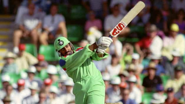 You could not stop Rameez Raja once he got in the zone © Getty Images