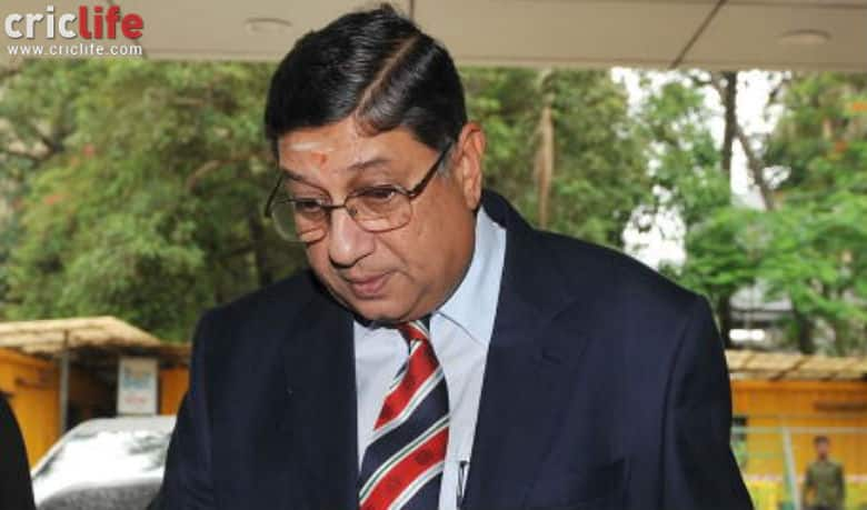 N Srinivasan barred from contesting BCCI elections