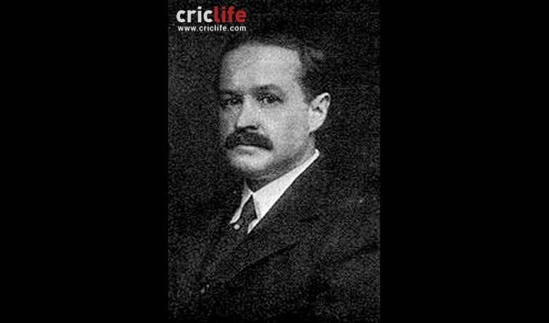 The only cricketer to go down with the Titanic