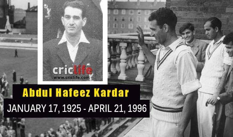 Image result for Abdul hafeez kardar