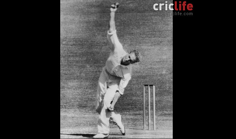 Gordon Rorke was 'in-the-face of the batsman' – quite literally!
